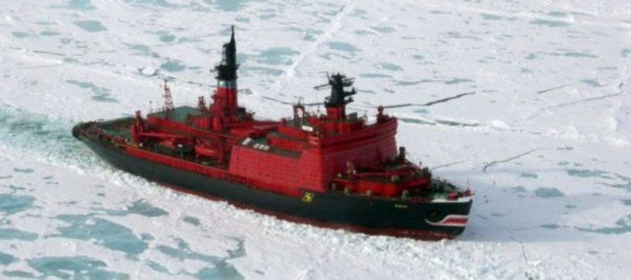 GLOBAL WARMING Expedition Comes To A Halt – Too Much ICE To Travel…
