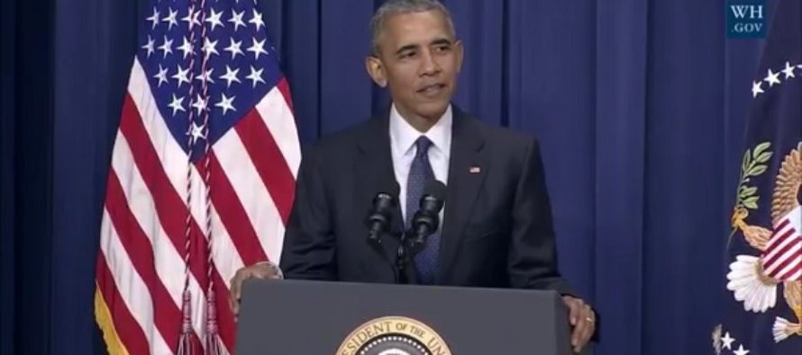 Obama's Responds To This Morning's TERRORIST Attack By Telling A JOKE…VIDEO