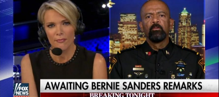 BOOM! Sheriff Clarke Has Just TWO WORDS To Describe The DNC And They ARE EPIC!!