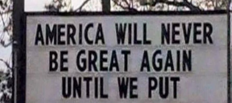 When America Will Be Great Again Revealed In One EPIC Meme