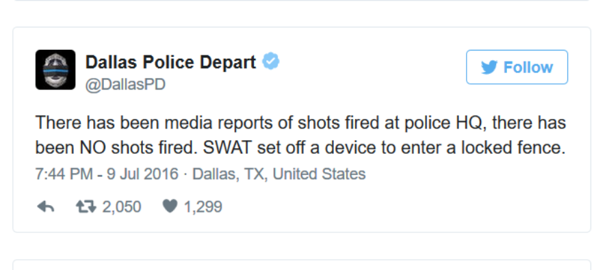 Dallas Police Department has another problem, but crushes it on social media