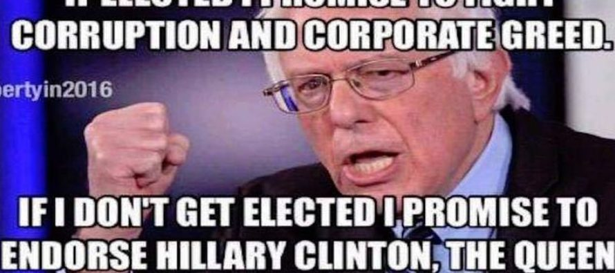 Bernie's DISGUSTING Hypocrisy on Greed and Corruption EXPOSED [Meme] [VIDEO]