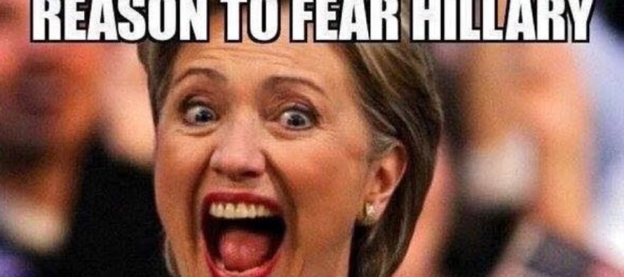 Hillary's TERRIFYING Plans For Obama Are Paralyzing… [MEME]