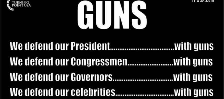 Why Conservatives Need To Speak Out On Liberal Hypocrisy On Gun Control [Meme]
