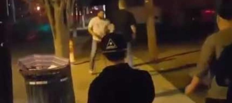 VIDEO: MMA Fighter Gets Challenged to a Street Fight