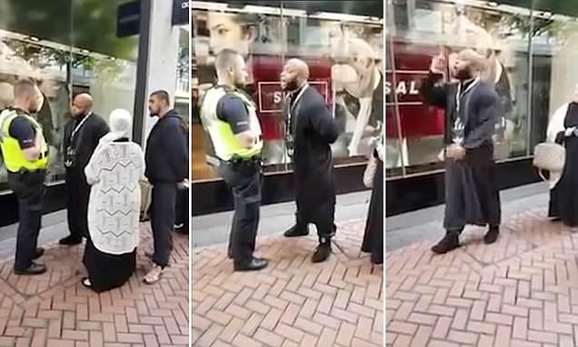 Muslim napadl ženu v těsných džínách. Alláhu Akbar, nebojím se tě, křičel na policistu a ten byl všem pro smích