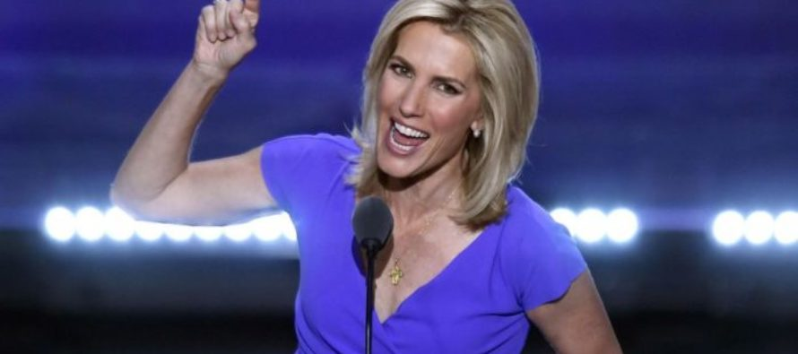 YES! Laura Ingraham Points to Press, Says THESE 3 Words and The Crowd Goes WILD! [VIDEO]