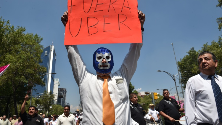 mexico-transport-taxi-uber-protest-1