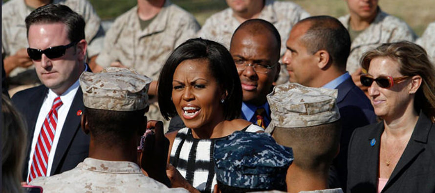 Marine OBLITERATES Michelle Obama for Race Baiting