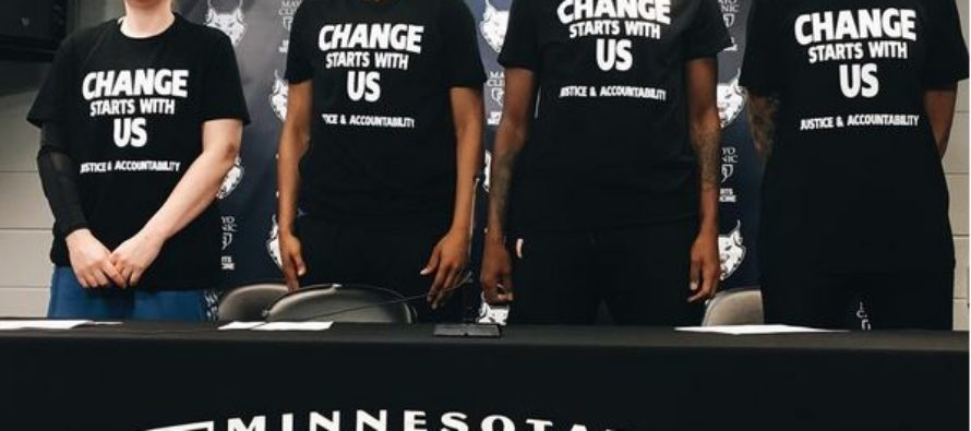 When Police Officers Working a WNBA Game Saw This, They Walked Off the Job
