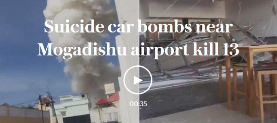 TERROR As Suicide Bomber Detonates In Major City