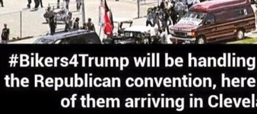 """HOLY! """"Bikers 4 Trump"""" Show Up By The THOUSANDS To RNC – Then THIS Happens… [MEME] [VIDEO]"""