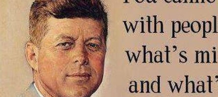JFK Warns Us About Liberals Today – And NAILS It… [MEME]