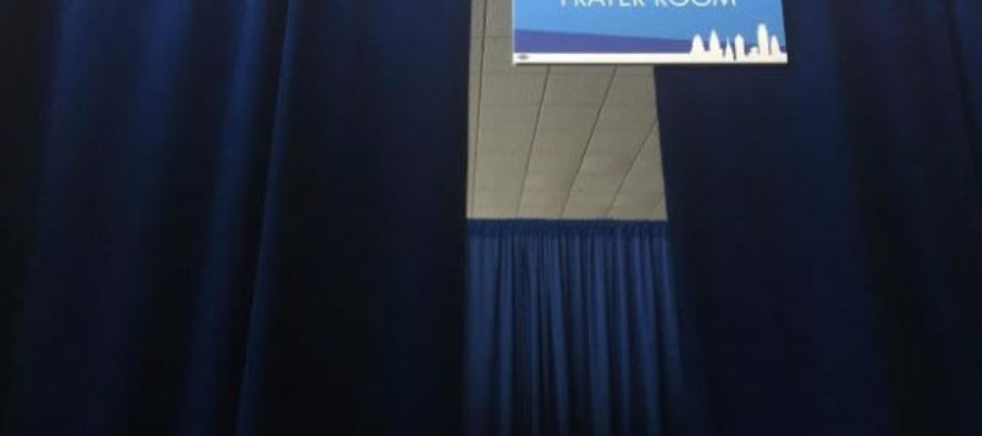DNC Provides 'Interfaith' Prayer Space at Convention… Islam Only Religion Present