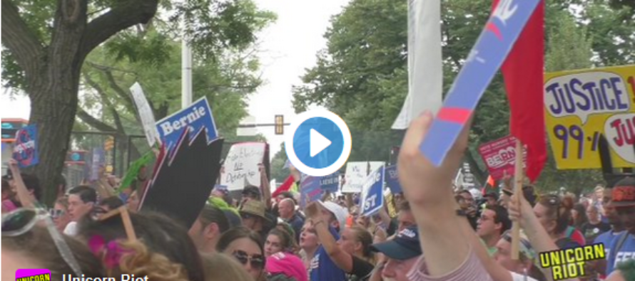 Here's What Really Happened At The DNC, But The Mainstream Media Won't Show You [VIDEO]