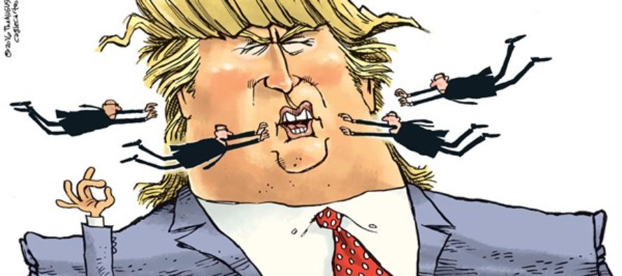 Trump Secret Service (Cartoon)