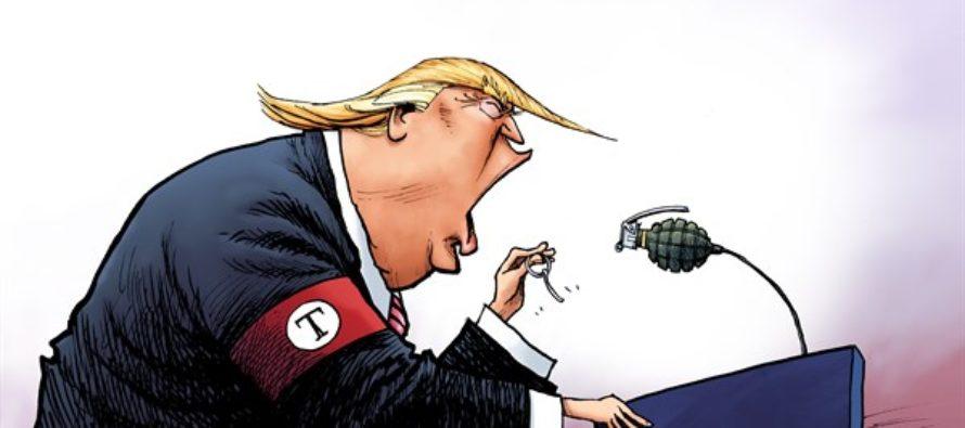 Dangerous Donald (Cartoon)