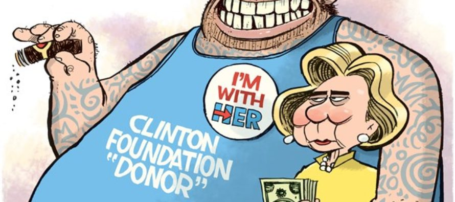 Clinton Foundation Donor (Cartoon)
