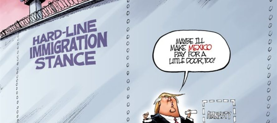 Tweaking the Wall (Cartoon)