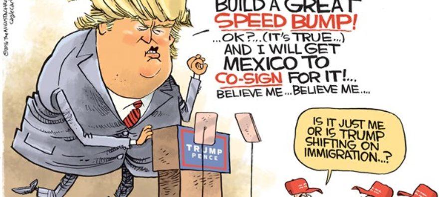 Trump Immigration (Cartoon)