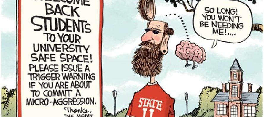 Brainless Universities (Cartoon)