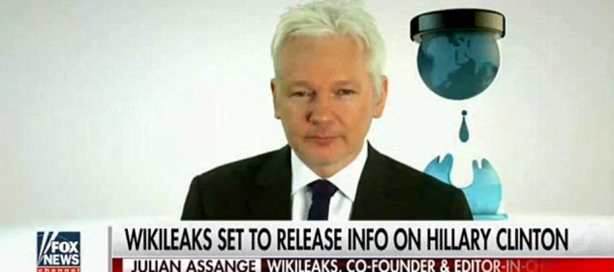 WikiLeaks Says SOMETHING DAMNING Is About to Be Released from Clinton Campaign [VIDEO]
