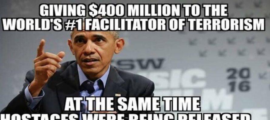 Obama's Not-So-Secret $400 Million Dollar Deal with Iran is a JOKE – On America [Meme] [VIDEO]