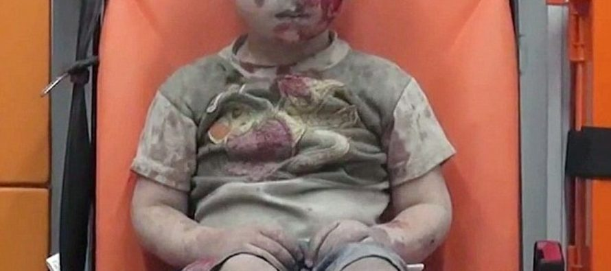 Haunting Footage Shows Stunned Face Of Little Boy…They Say No One Is Safe [VIDEO]
