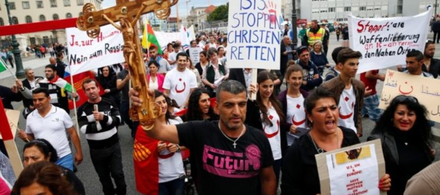 Murderous Muslims use Christians for terrible target practice