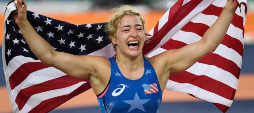 American Olympic Wrestler PAUSES During Competition For A Prayer – Before Making HISTORY! [VIDEO]