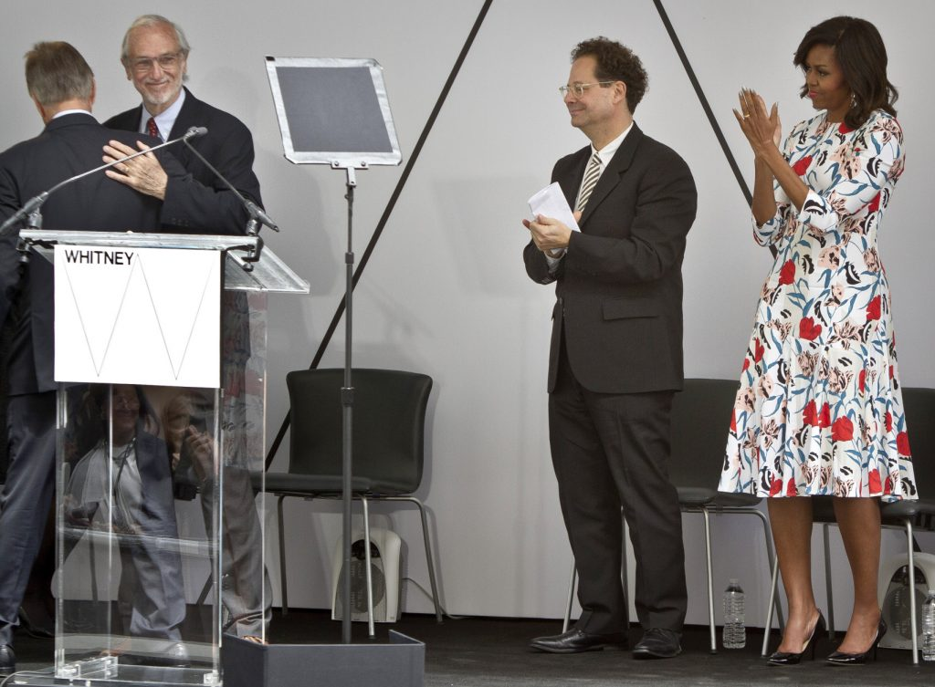 Michelle Obama, Adam Weinberg, Renzo Piano