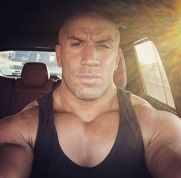 Fitness trainer Tam Khan instagram image