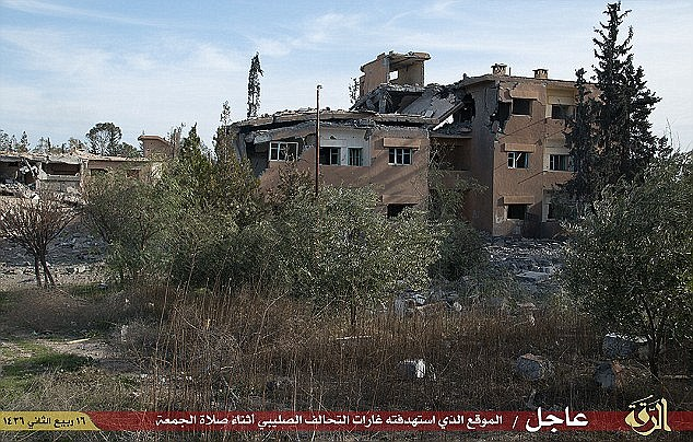 Mueller had been held in captivity for 18 months, and kept as a sex slave in a Syrian dungeon until she was killed in a Jordanian airstrike February last year. ISIS released images of this badly damaged building in which they claimed Mueller had been killed during the airstrike