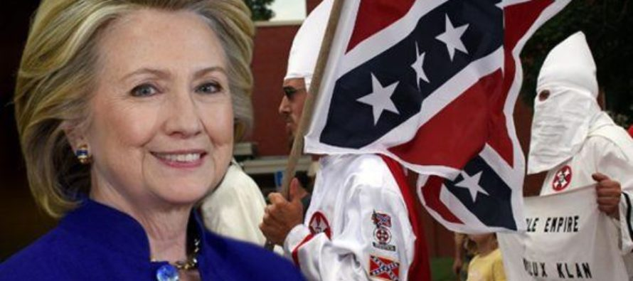 HILLARY Releases Nasty White Supremacist Ad Against Trump, Forgets to Mention Her History With Them! [VIDEO]