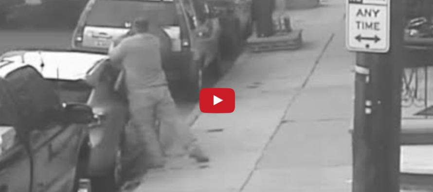 Bat-Wielding Thug Attacks Marine… GUESS WHO WINS! [VIDEO]