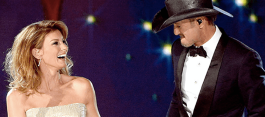 Tim McGraw Raises Eyebrows By Posting VERY Racy Picture of Faith Hill