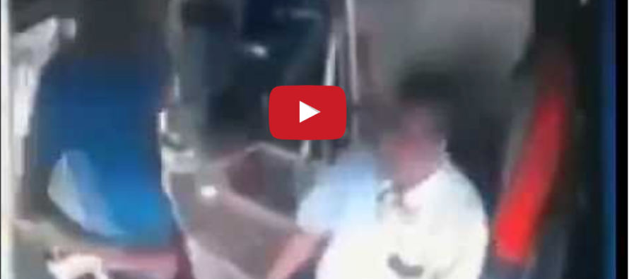 Migrant Attacks Bus Driver for Not Giving Him a Free Ride… Gets a BRUTAL Response [VIDEO]