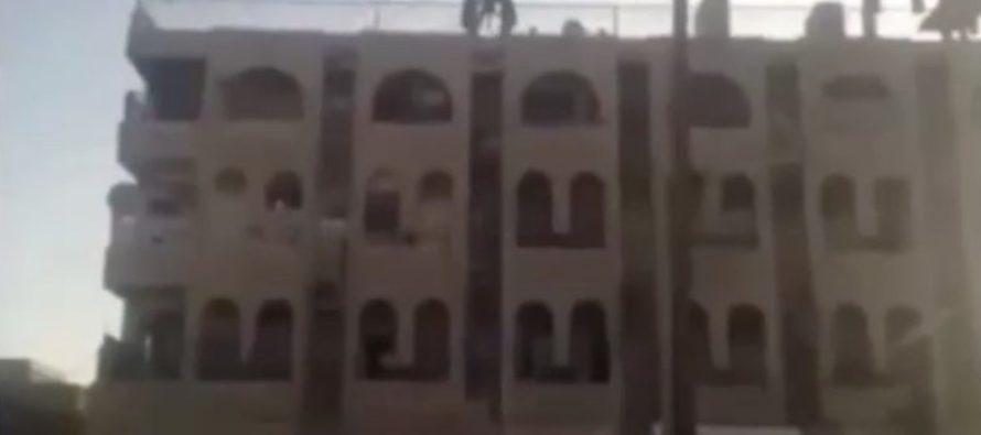 Muslims Savagely Throw Gay Men Off Roof [WARNING: DISTURBING] [VIDEO]