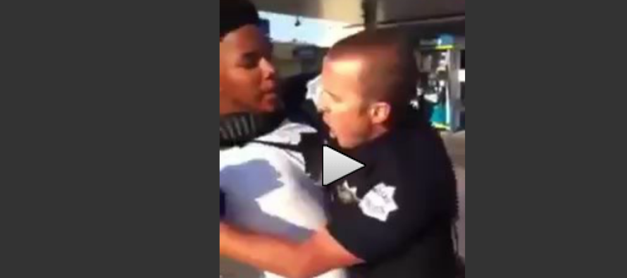 Loudmouth Thug Thinks He Can Attack Small Cop… BOY WAS HE WRONG! [VIDEO]