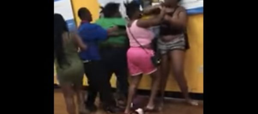 All-Out BRAWL Breaks Out in Walmart… The Media Is Hiding This [VIDEO]
