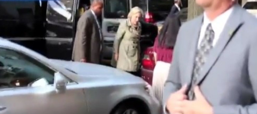 Watch What Happened As Soon as Hillary Got Out of This Van… [VIDEO]