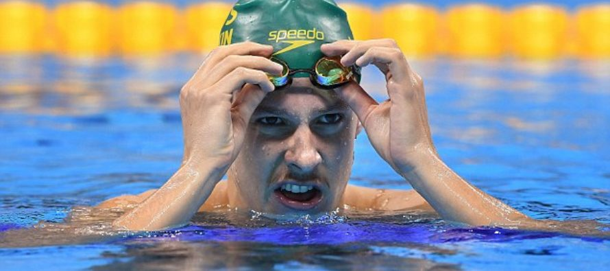 """Swimmers pulled out of nasty Olympic water when it becomes """"cloudy and soupy"""" [VIDEO]"""