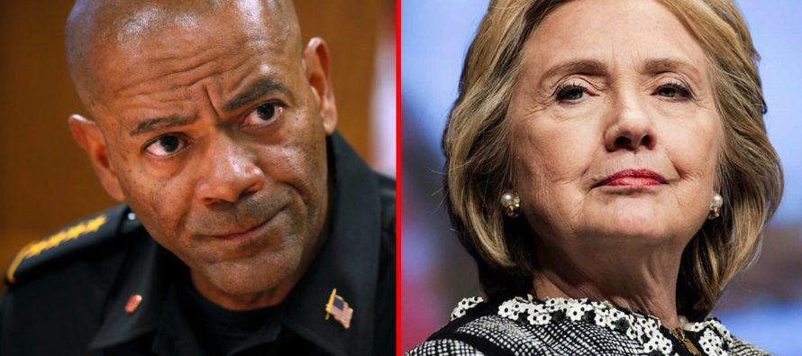 Sheriff Clarke Calls On All Americans To See The TRUTH – 'Hillary Is In Bed With Criminals' VIDEO