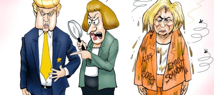 Reeks of Bias (Cartoon)