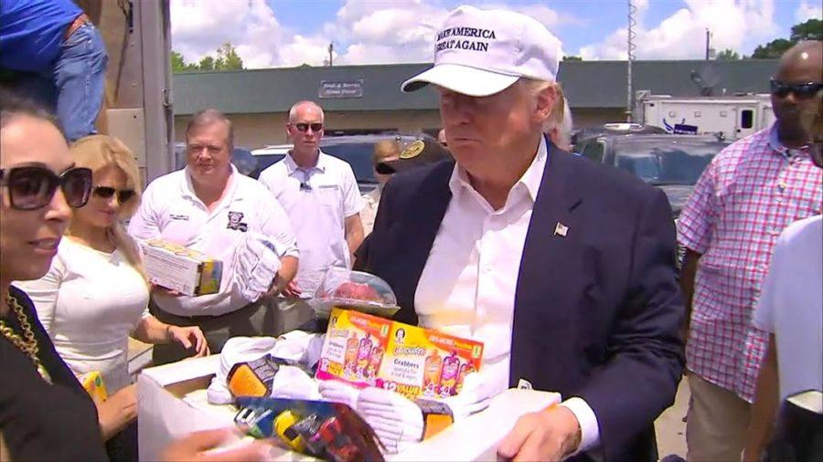 Trump supplies
