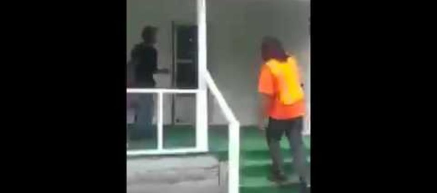 Dad Catches Boyfriend Cheating On Daughter & Beats Him Down [VIDEO]