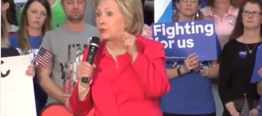 VIDEO: Hillary Clinton Has a Brain Freeze at a Public Event