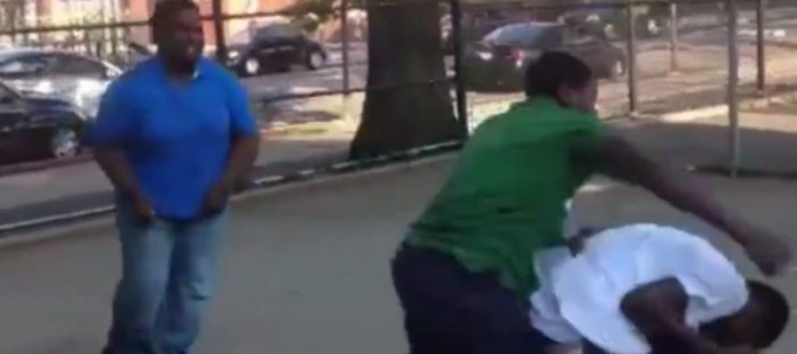 Fight VIDEO: Man Fights off 2 Guys Trying to Jump Him in Brooklyn