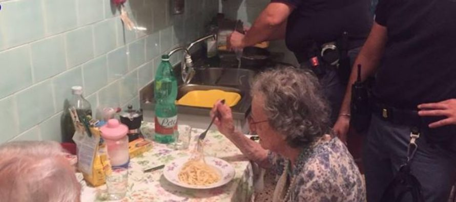 Police Praised After Cooking Pasta for Elderly Couple Heard Crying in Apartment From Loneliness
