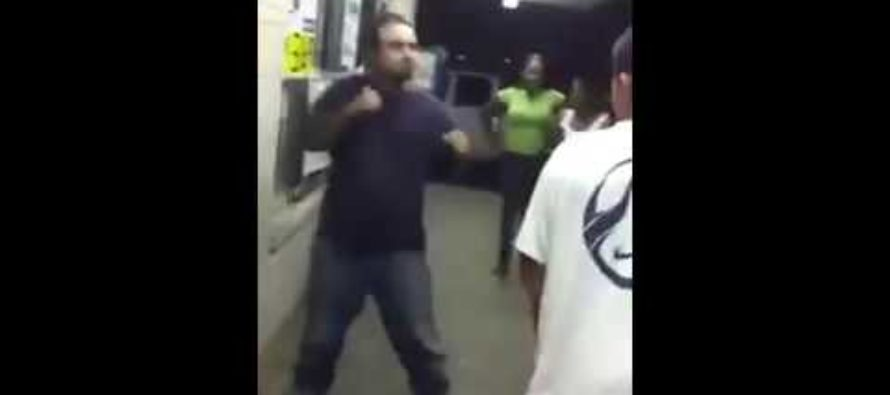 Fight Video: He Was Jumped by 4 Guys and WON